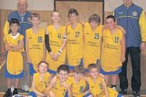 POSTUP. Nejmladší minižactvo BK Slavoj Litoměřice zvládlo domácí kvalifikaci o postup na republikový šampionát parádně.