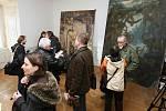 V depozitáři Národního památkového ústavu v Doksanech bylo objeveno sedm obrazů ze sbírky Adolfa Hitlera.