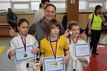 Mláďata Sport Judo Litoměřice přivezla ze Zimního turnaje mládeže v Teplicích osm medailí.
