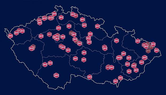 Mapa Mattoni FreeRun.