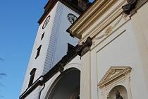 Věž u katedrály sv. Štěpána v Litoměřicích
