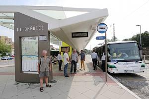 Městská hromadná doprava v Litoměřicích má novou linku, která zajíždí i na náměstí