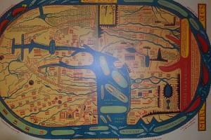 """Podřipské muzeum v Roudnici nad Labem od 2. do 30. srpna 2016 hostí putovní výstavu """"Kouzlo starých map""""."""