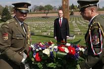 Návštěva předsedy Evropského parlamentu Martina Schultze a premiéra ČR Bohuslava Sobotky v Terezíně.