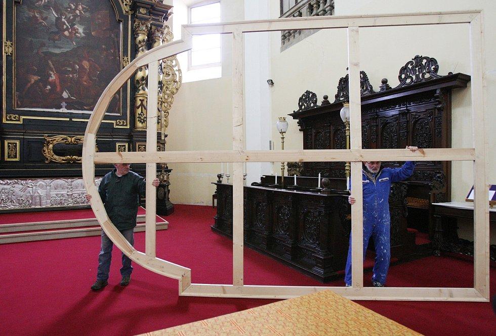 Obrazy Karla Škréty se vrátily do litoměřické katedrály 2011