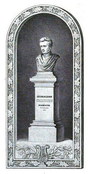 KOMPLETNÍ PODOBA busty J. E. Hilschera.