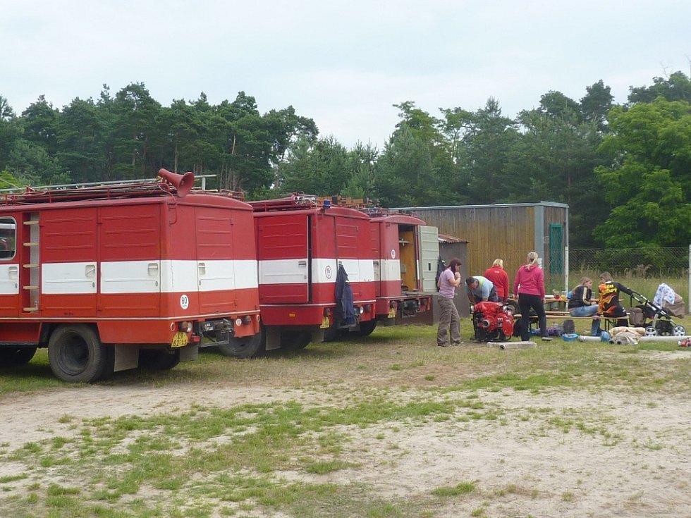 Soutěž hasičů O pohár starosty Travčic