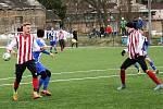 Zimní příprava 2019, fotbal, Roudnice-Bezděkov.