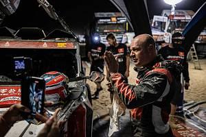 Tomáš Enge na Dakaru 2021.