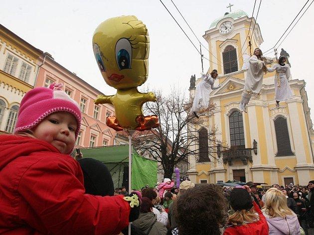 Úštěcký advent - slet andělů.