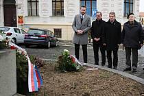 Připomínka výročí začátku okupace v Roudnici nad Labem
