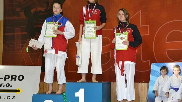 VÍTĚZKA Filipová, na třetím místě Konůpková.