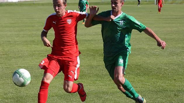 Fotbalový zápas Brozany a Vltavín, ČFL 2018/2019