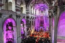 Jezuitský kostel je místem konání rozličných kulturních akcí, například Litoměřických svátků hudby.