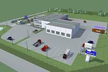 VIZUALIZACE VOLVO Truck Czech centra.