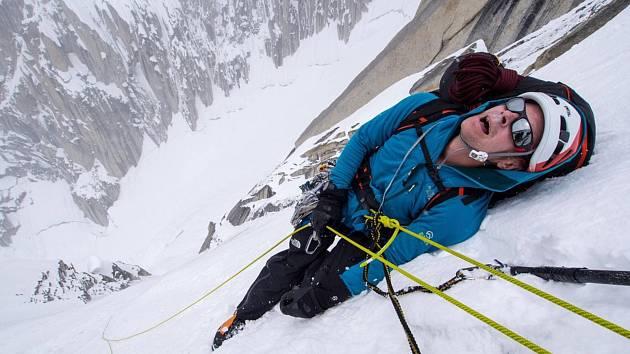 Výstup na Link Sar zobrazuje odhodlání Jonathana Griffitha zdolat horu, která ho již čtyři roky odmítá.