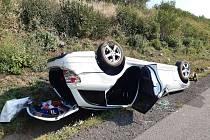 Na dálnici D8 na trase Praha – Ústí u Lukavce na Litoměřicku došlo vneděli 26. září po 13. hodině odpoledne knehodě se zraněním.