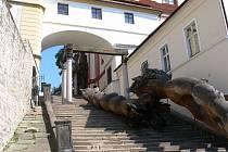 Jezuitské schody v Litoměřicích