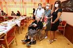 Nejstarší občanka Litoměřic paní Vlasta Šumová slaví 104. narozeniny.