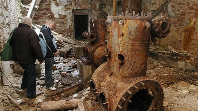Objekt bývalého pivovaru v Roudnici, 4.2.2014