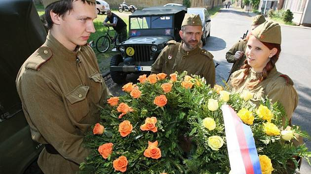 Terezín - výročí osvobození.