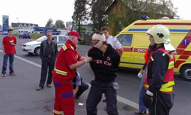 Vrah Tomáš Peller byl dopaden po nehodě na silnici od Litoměřic do Terezína. Skončí zřejmě v léčebně