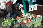 Farmářské trhy v Litoměřicích.