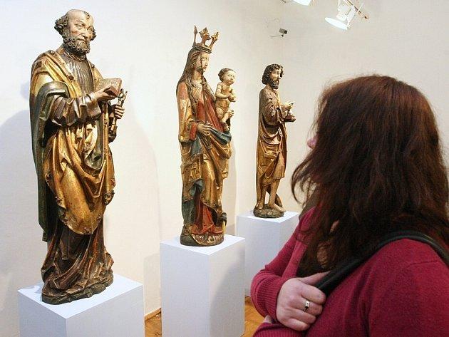 V Severočeské galerii výtvarného umění v Litoměřicích.