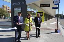 Litoměřické autobusové nádraží bylo slavnostně uvedeno do provozu.