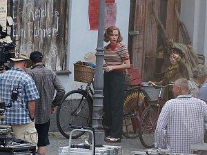 Natáčení hollywoodského štábu v Úštěku