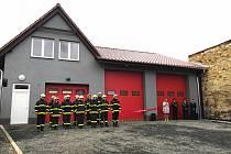 Prackovice o víkendu otevřely novou požární zbrojnici