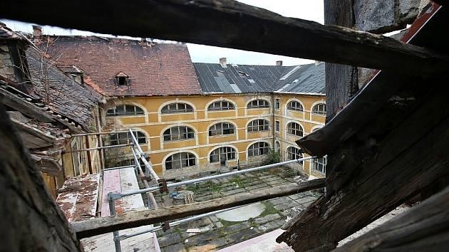 Žižkovy kasárny v Terezíně. Archivní foto