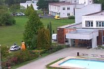 Nemocnice v Litoměřicích.
