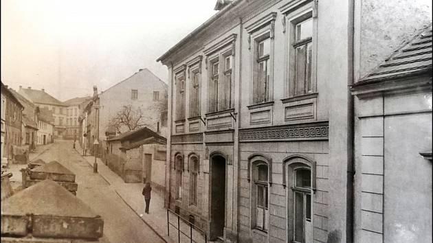 ZUŠ Litoměřice, historická fotografie.