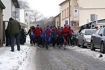 Běh od Hasy k Hase v Roudnici nad Labem - 31. prosince 2010.