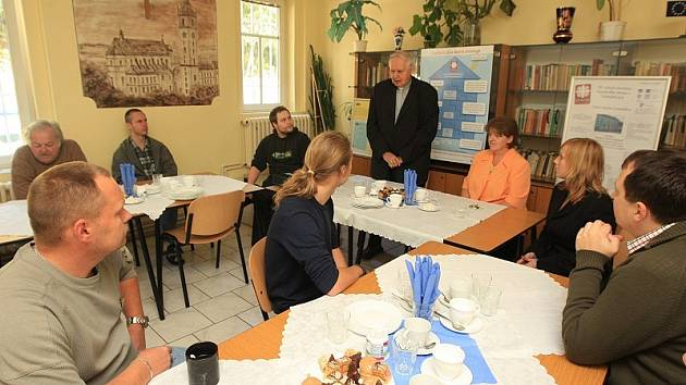 V azylovém domě v pátek oslavili 10. výročí založení.
