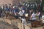Průběh sobotních Josefínských slavností v Terezíně - od příprav po odpolední a večerní bitvu