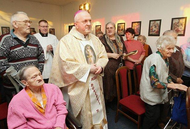 Domov důchodců v Libochovicích - pondělí 29. 12. 2008.