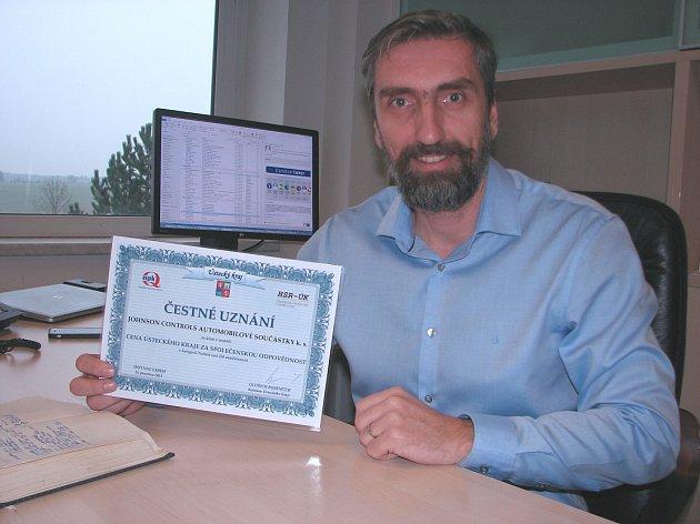 FIRMA od Ústecké kraje získala uznání za společenskou odpovědnost.