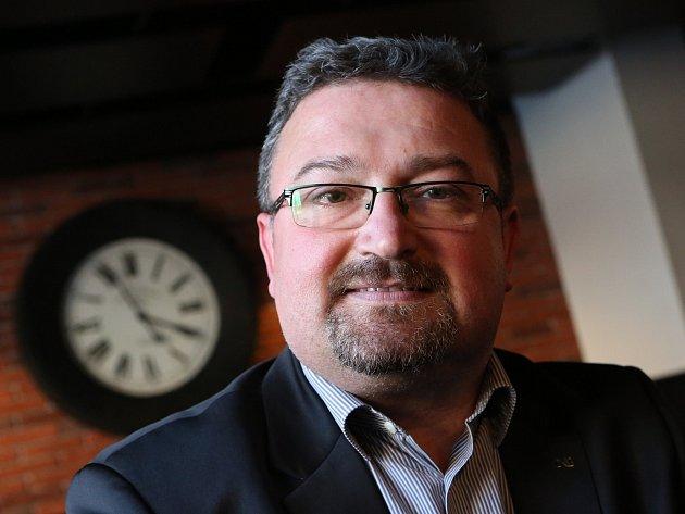 Petr Král z Roudnice nad Labem při rozhovoru o jeho působení v České národní bance.
