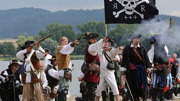 Piráti na Úštěku v roce 2019