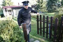 Policisté kontrolují chaty na Úštěcku.