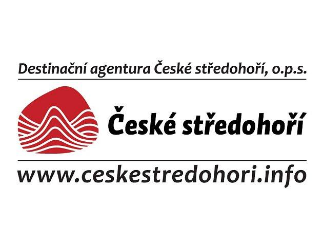 Destinační agentura České středohoří, logo.