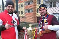 Fandí sice rozdílným klubům, spojuje je ale touha pomoci. Letos štětští fanoušci podpoří nemocného Vojtu.