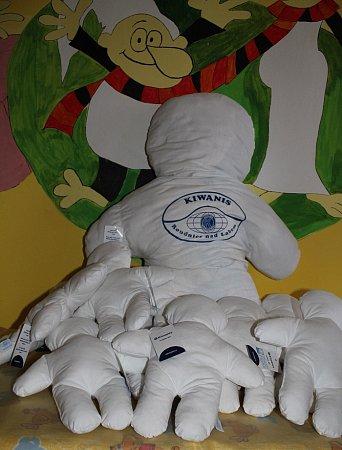 Podřipská nemocnice se zapojila do projektu Kiwanis panenka