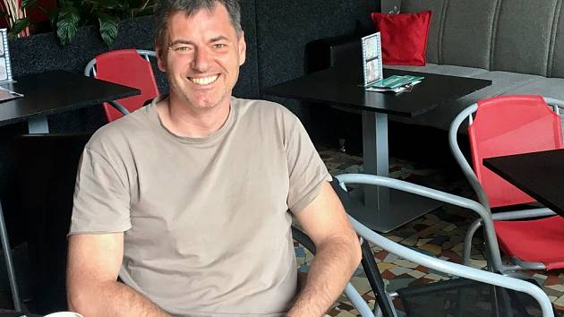 Michal Špadrna, vedoucí litoměřického kina Máj