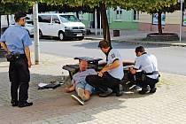 Policie prověřovala incident na Dlouhé ulici v Litoměřicích