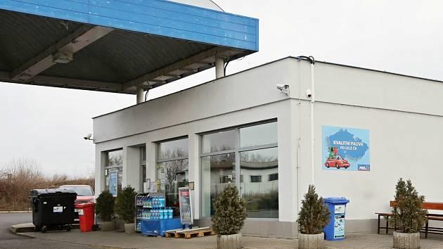 Přepadená čerpací stanice v Lovosicích