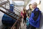 U příležitosti Dne evropského dědictví mohli zájemci navštívit vodní elektrárnu a jez v Doksanech.