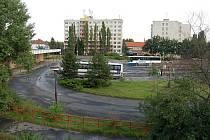 Místo tohoto autobusového nádraží by měl LIDL stát.